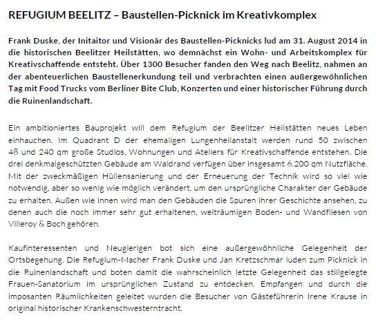 Beelitz Text 1