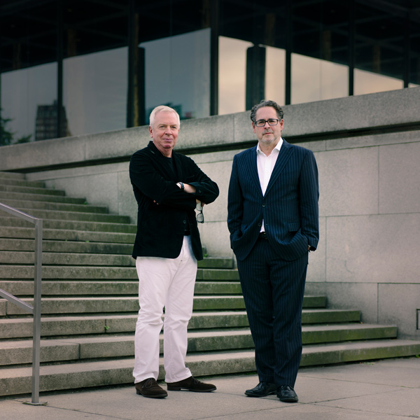 David Chipperfield und Udo Kittelmann. Foto: Simon Menges