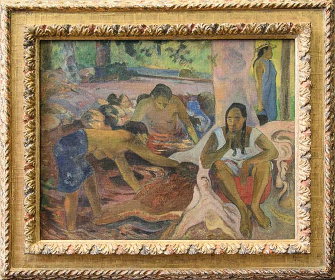 ImEx - Paul Gaugin - Tahitianische Fischerinnen, 1891 Öl auf Leinwand, 71 x 90 cm