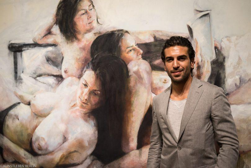 Elyas M'Barek in der Gallery Woeske