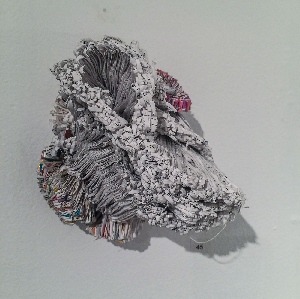 Jaynie Crimmins in der Gallery 66 NY