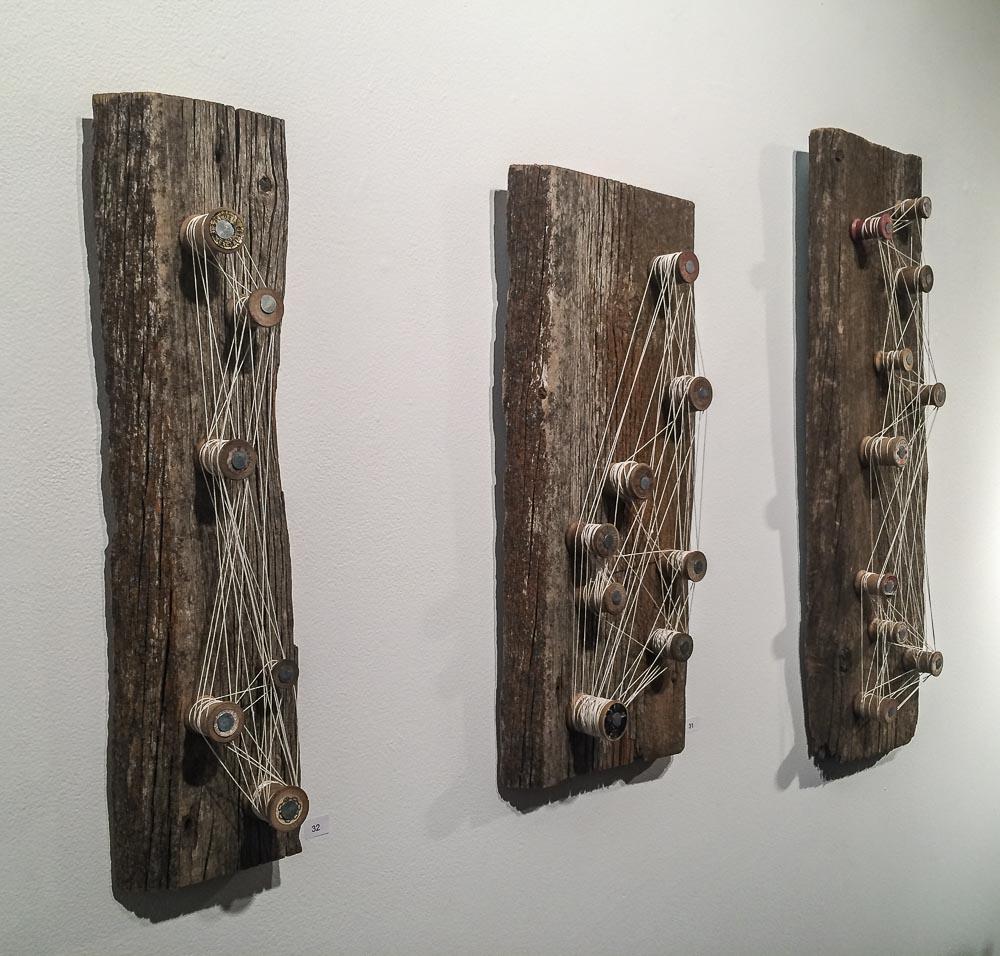 Leslie Fandrich in der Gallery 66 NY