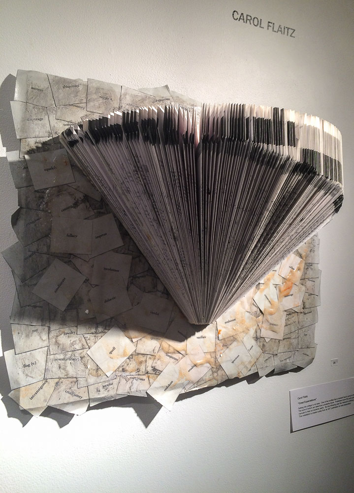 Carol Flaitz in der Gallery 66 NY