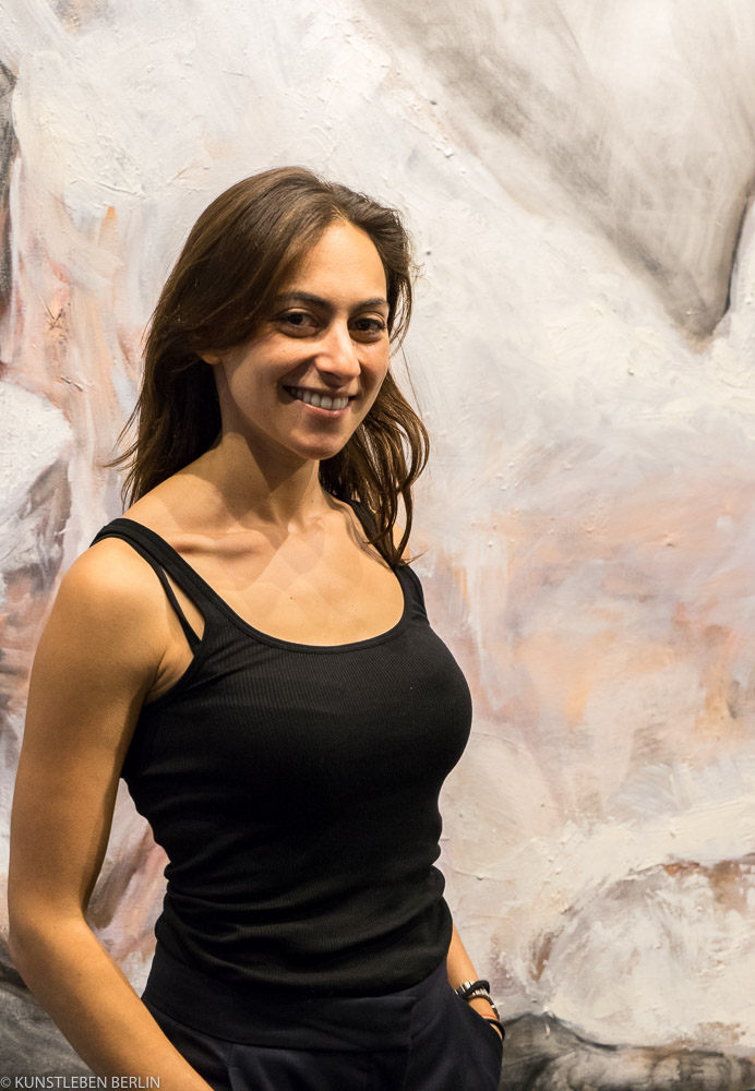 Die Künstlerin des Abends: Justine Fisher