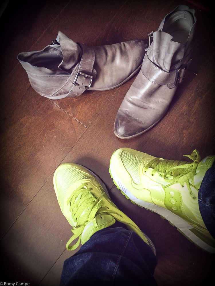 Ein neues (Sneaker-) Leben beginnt...
