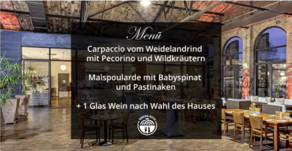 DINING DAYS BERLIN