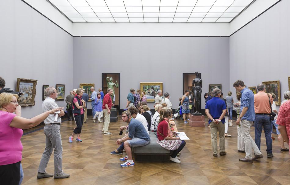 """""""ImEx - Impressionismus – Expressionismus. Kunstwende"""" 22. Mai – 20. September 2015 Alte Nationalgalerie Berlin Foto: David von Becker"""