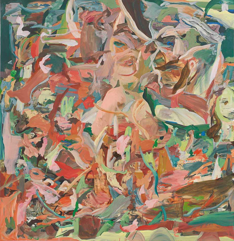 "CEB/M 84/00  Cecily Brown ""The Bodysnatcher"", 2015 Öl auf Leinen 170 x 165 cm / 67 x 65 in Photographer: Genevieve Hanson"