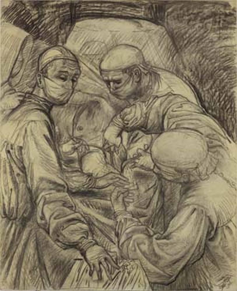 Otto Dix, Operation, Otto Dix & David Nicholson, Kunst Lager Haas