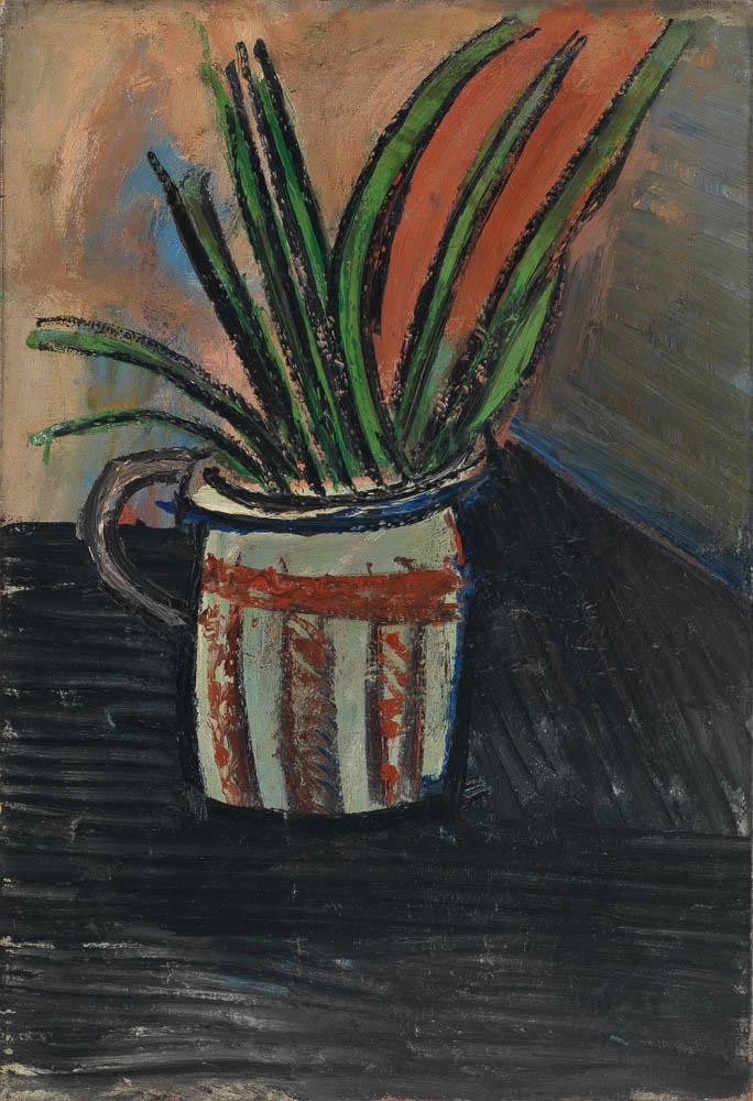 Picasso-Bouquet dans un vase, 1907, Galerie Michael Haas, Stillleben gestern und heute