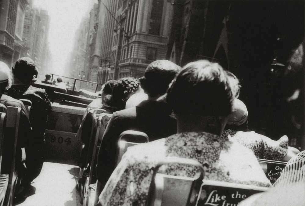 Doppeldeckerbus, 1932 Rare Photographs by George Grosz, Side by Side Gallery, Berlin