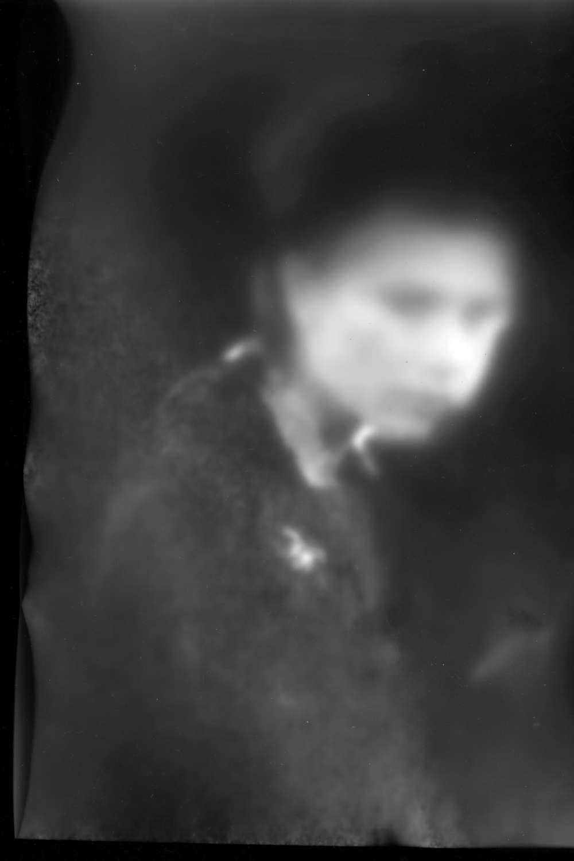 Kathrin Guenter, The Prince, Direktdruck auf Acrylglass im LED Leuchtkasten, 100 x 70 cm, Séance, janinebeangallery