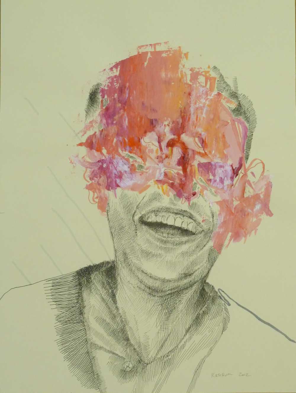 Joy of Failure - 40 cm x 30 cm, Loner Party, Steven Ketchum, artfein GALLERY