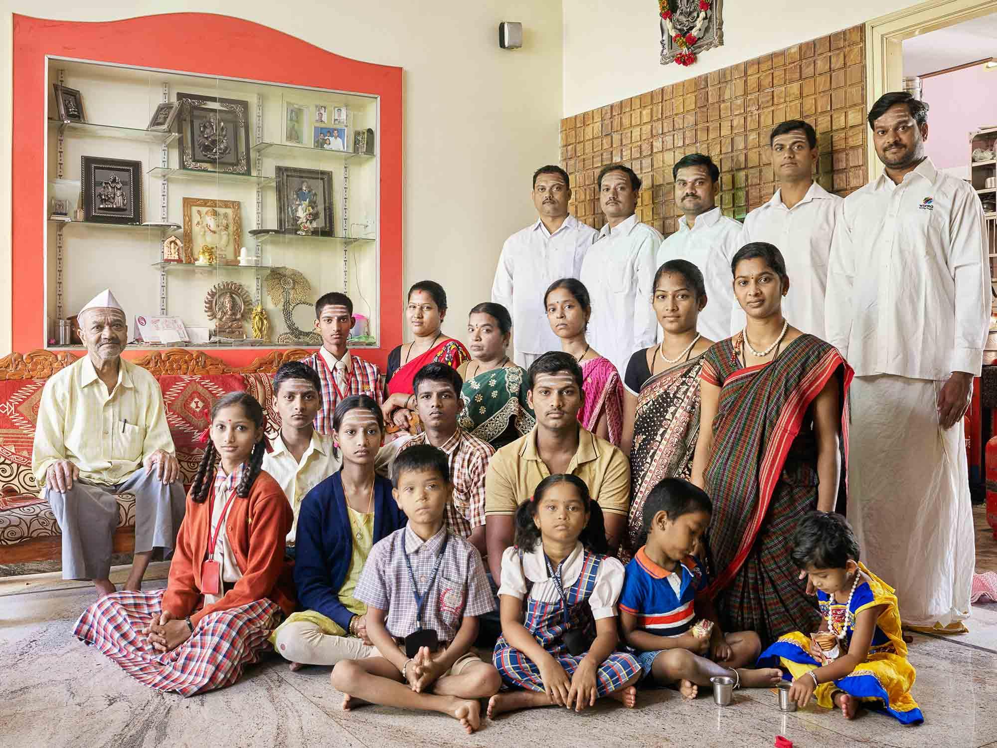 Nora Bibel, Panduranga, Bangalore, Indien, 2015. Aus der Serie Family Comes First
