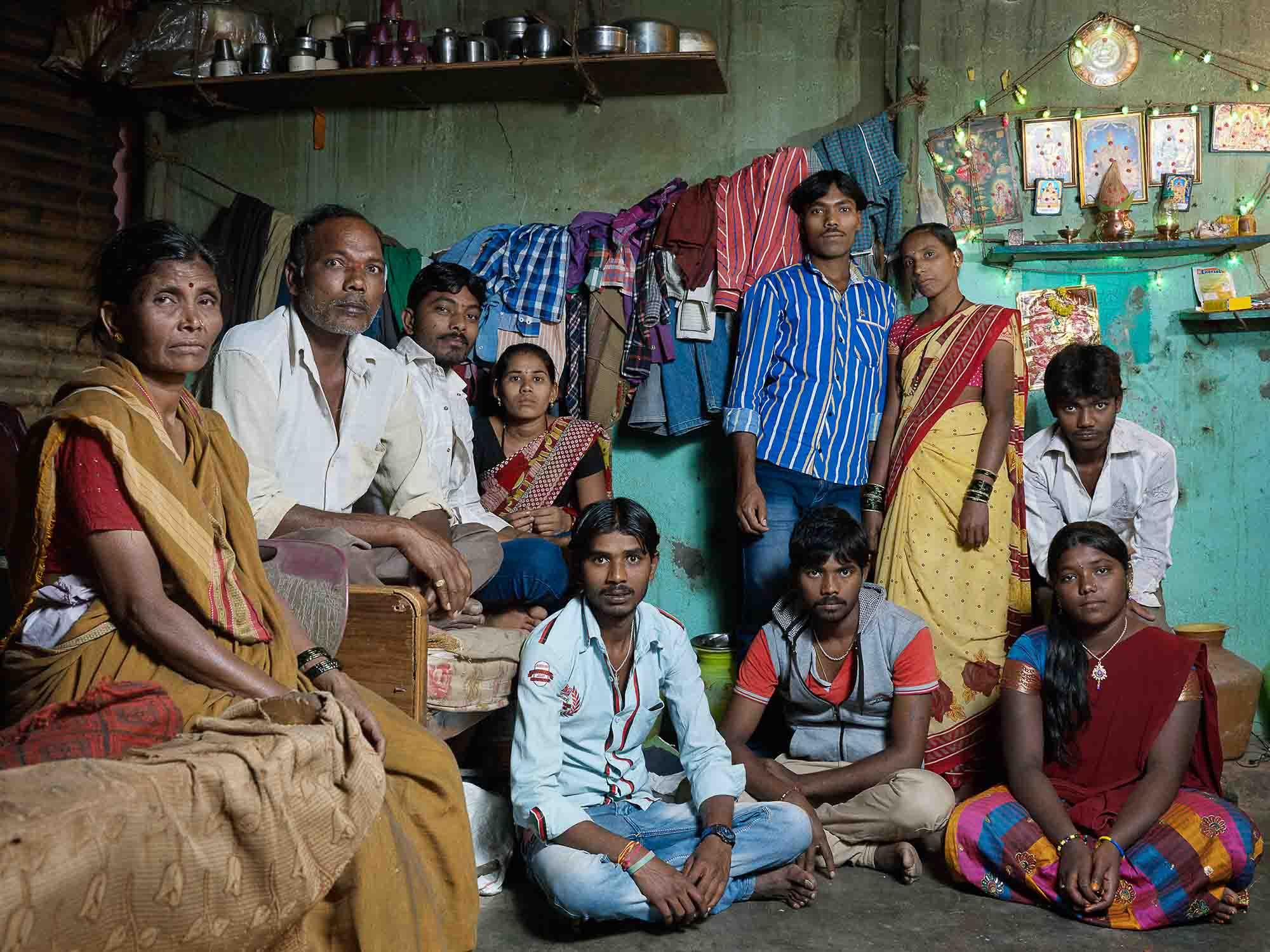 Nora Bibel, Sabanna, Bangalore, Indien, 2015. Aus der Serie Family Comes First
