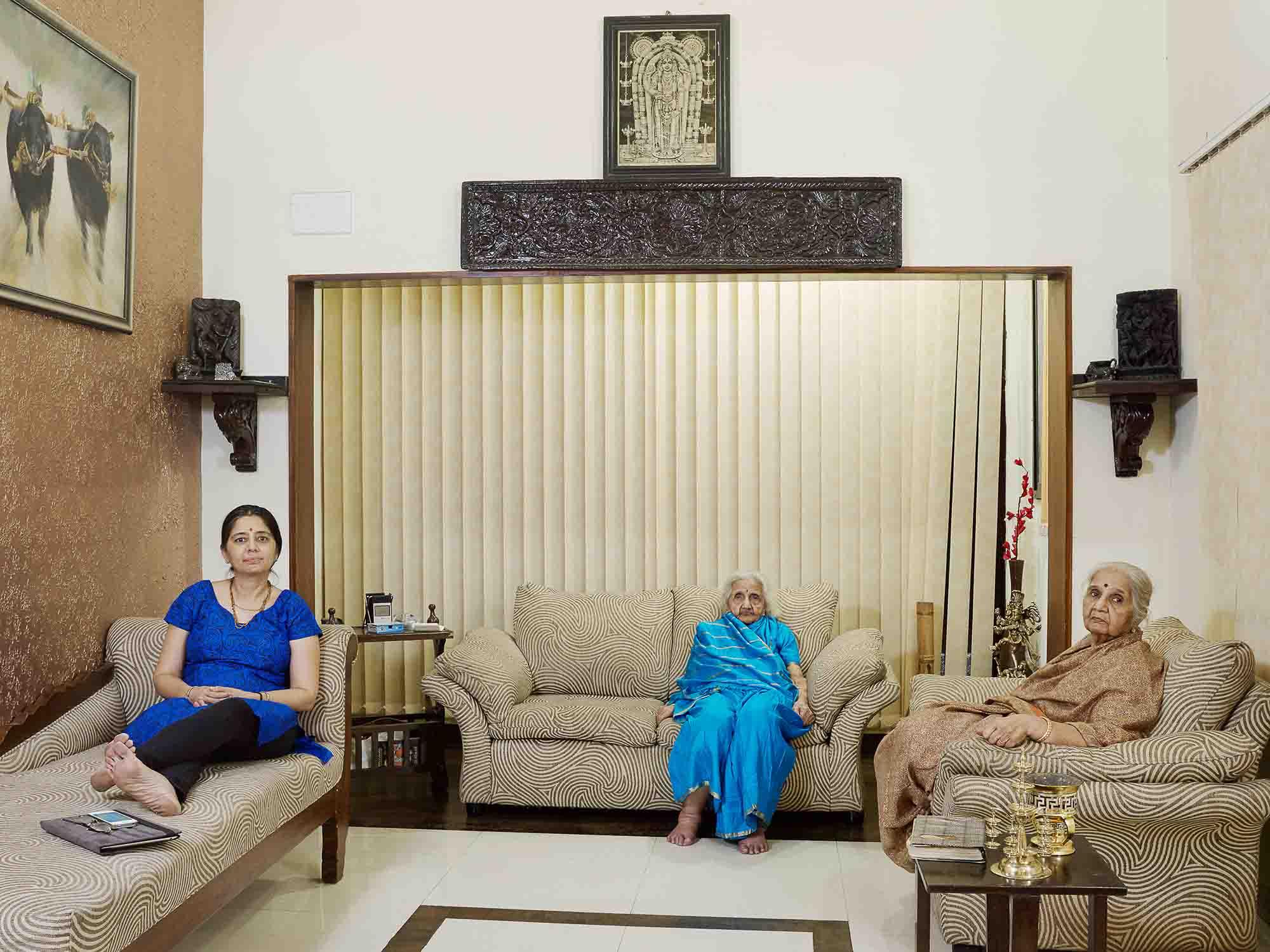 Nora Bibel, Setlur, Bangalore, Indien, 2015. Aus der Serie Family Comes First