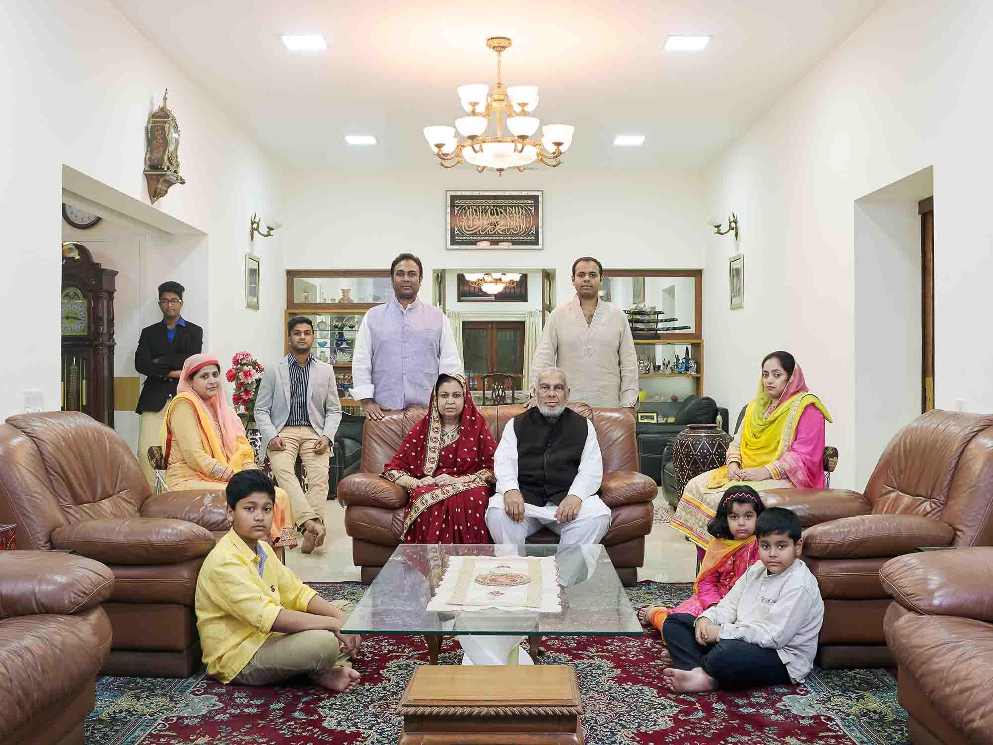 Nora Bibel, Suhail, Bangalore, Indien, 2015. Aus der Serie Family Comes First