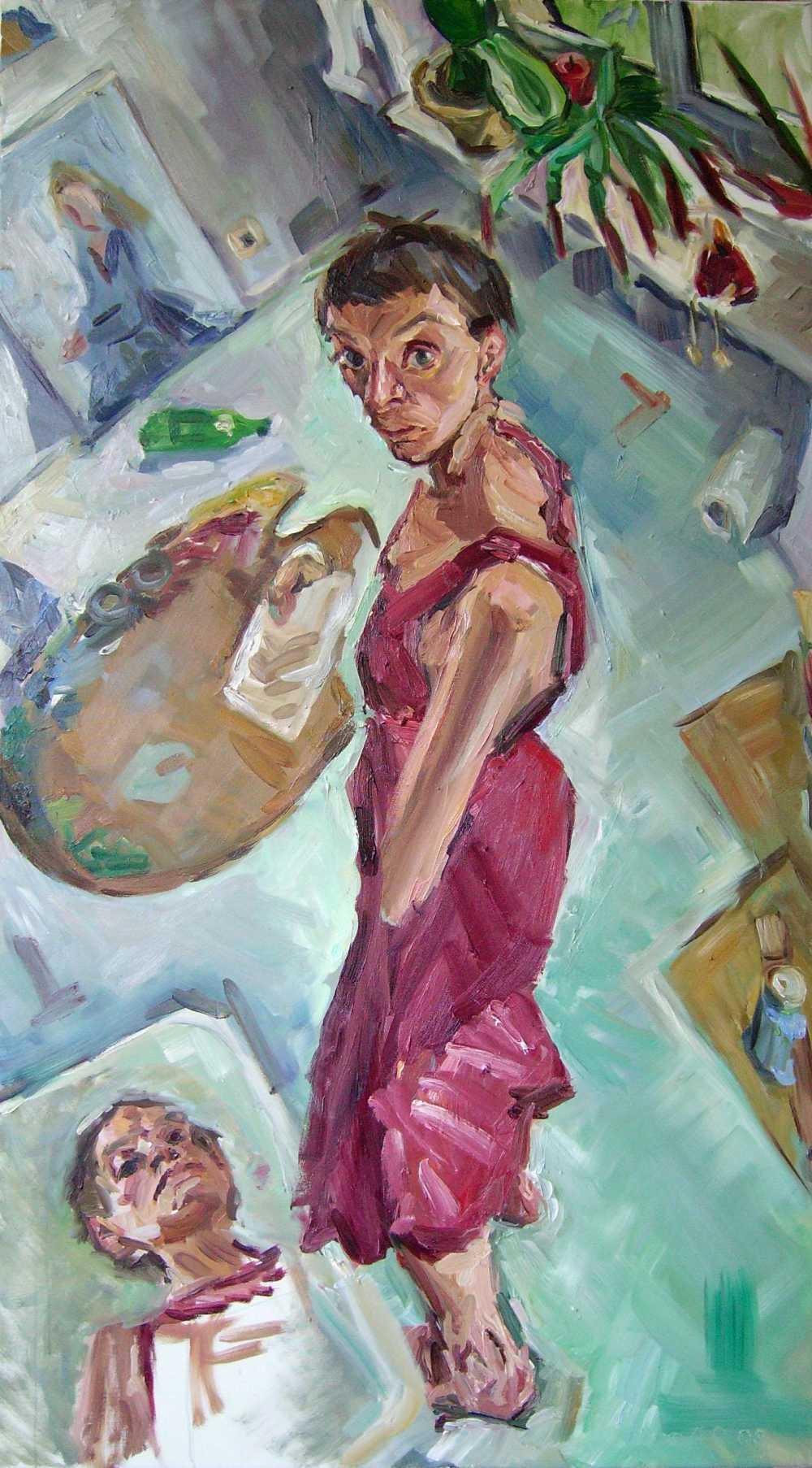 Bettina Moras, ona rabotajet – sie arbeitet. Das Bild der Frau heute in der Kunst, Projektraum Komet Nr. 29d