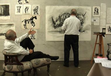 William Kentridge SIX DRAWING LESSONS © Courtesy the artist, Marian Goodman Gallery (New York, Paris, London); Goodman Gallery (Johannesburg, Cape Town) and Lia Rumma Gallery (Naples, Milan)