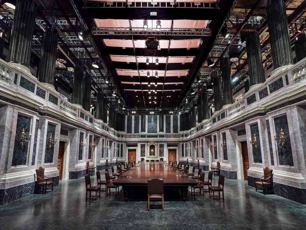Palazzo, Rome from On the Set of James Bond's Spectre © Anderson & Low All Rights Reserved