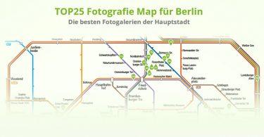Fotogaleriemap Berlin von Leinwandfoto_de