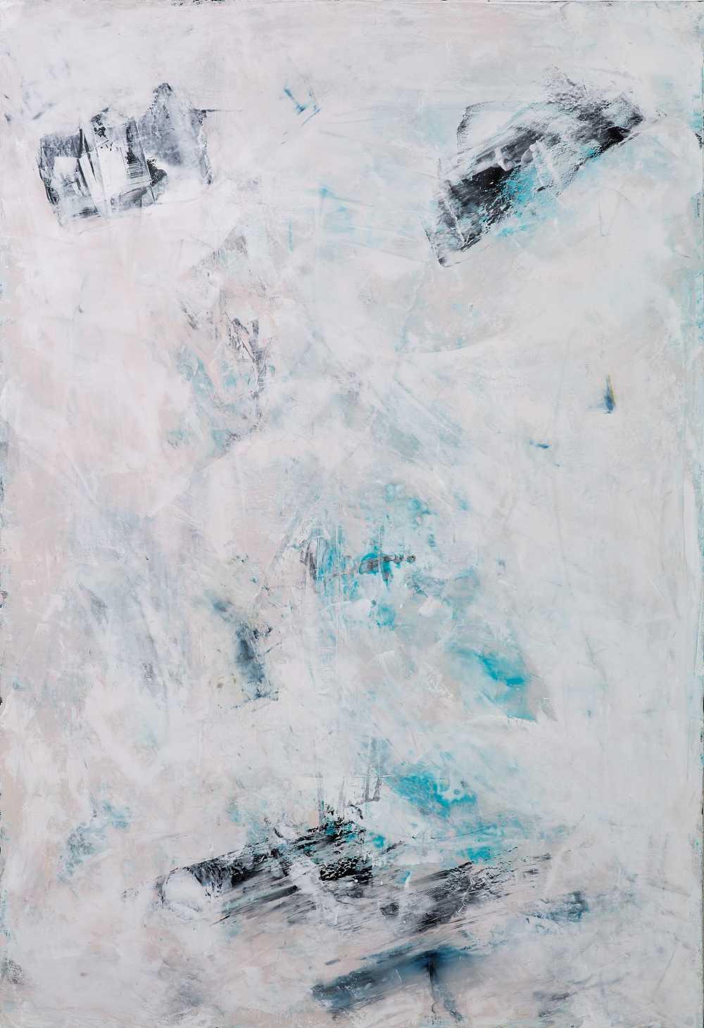 David Benforado, White-Turquoise