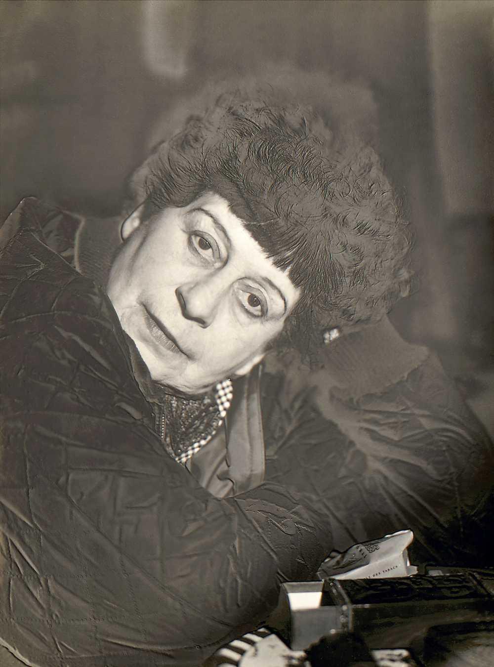 Jeanne Mandello, Florence Henri, 1942, Solarisation, Jeanne Mandello © Isabel Mandello de Bauer