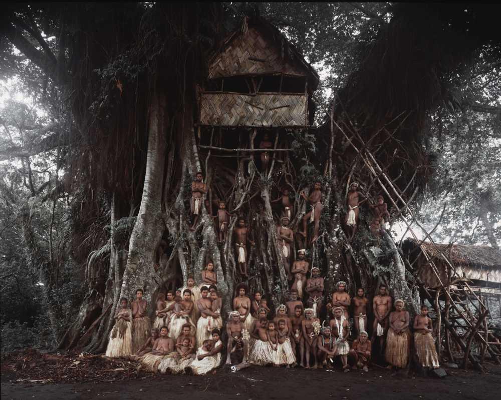 © JIMMY NELSON, NI YAKEL TRIBE , TANNA ISLAND, VANUATU, 2014