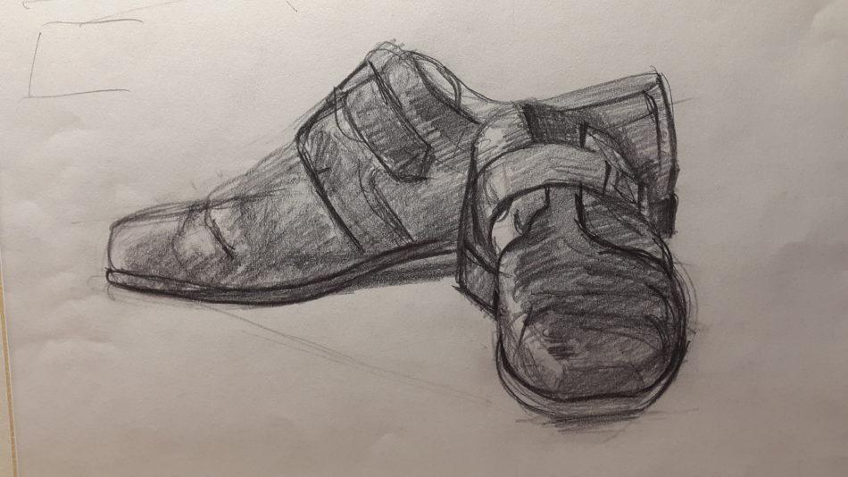 Alessa-Hiller-Mirzales-Schuhe-Benefiz-Kunst-gegen-Kälte