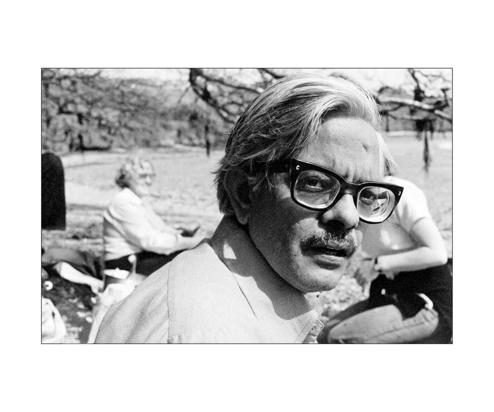 Bhupen Khakhar, circa 1979 in Cornwall