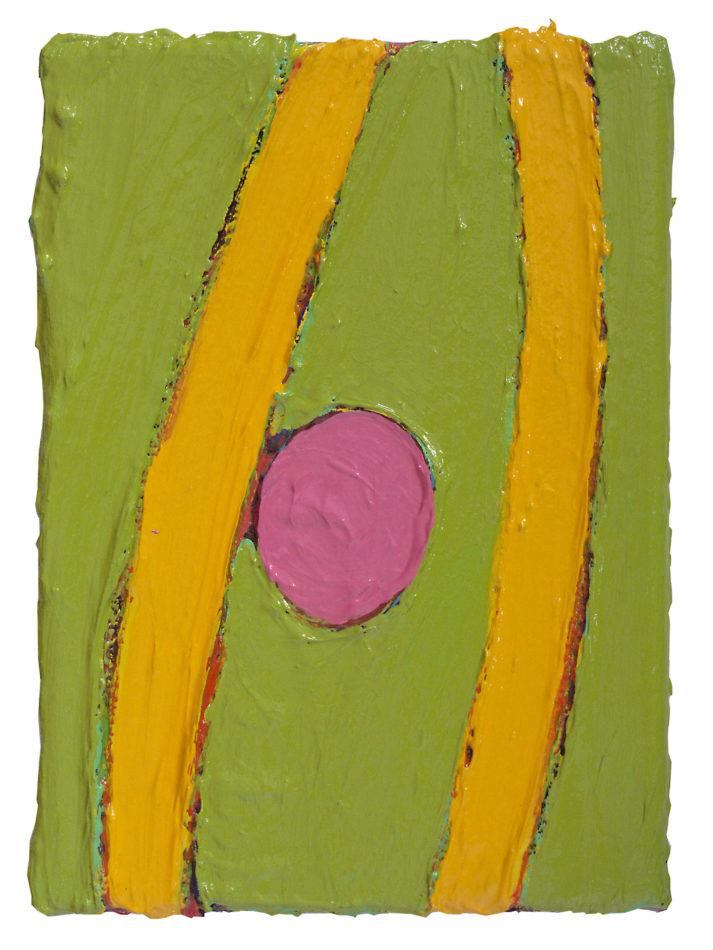 HERBAGE 2 von 12, 2012 MEMORY-PROJEKT, 25 x 18 cm, Acryl auf Leinwand, Keilrahmen