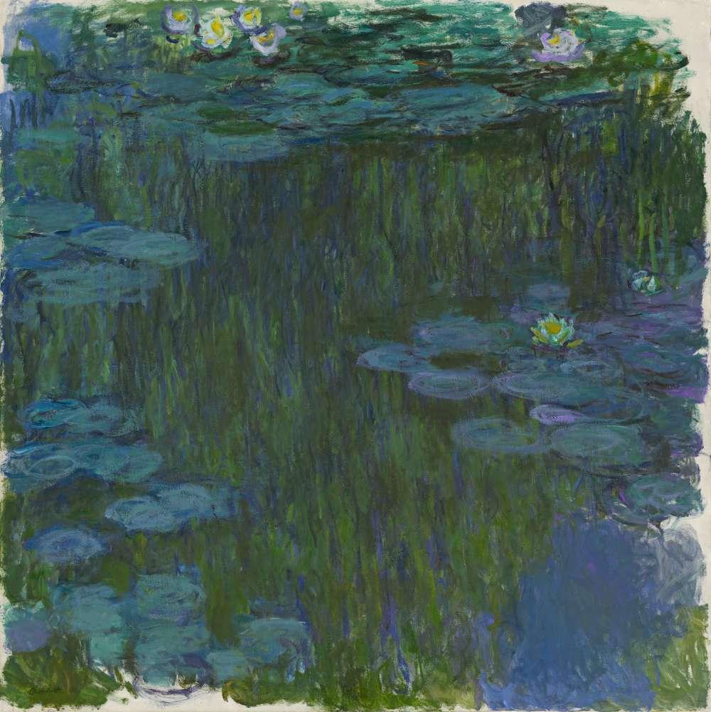 Claude Monet Seerosen, 1914–1917, Privatsammlung