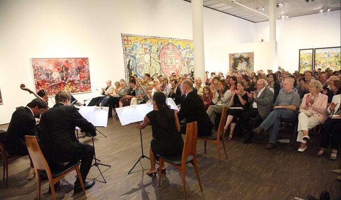 Kiez-Konzert im me Collectors Room Berlin, Foto Uwe Arens
