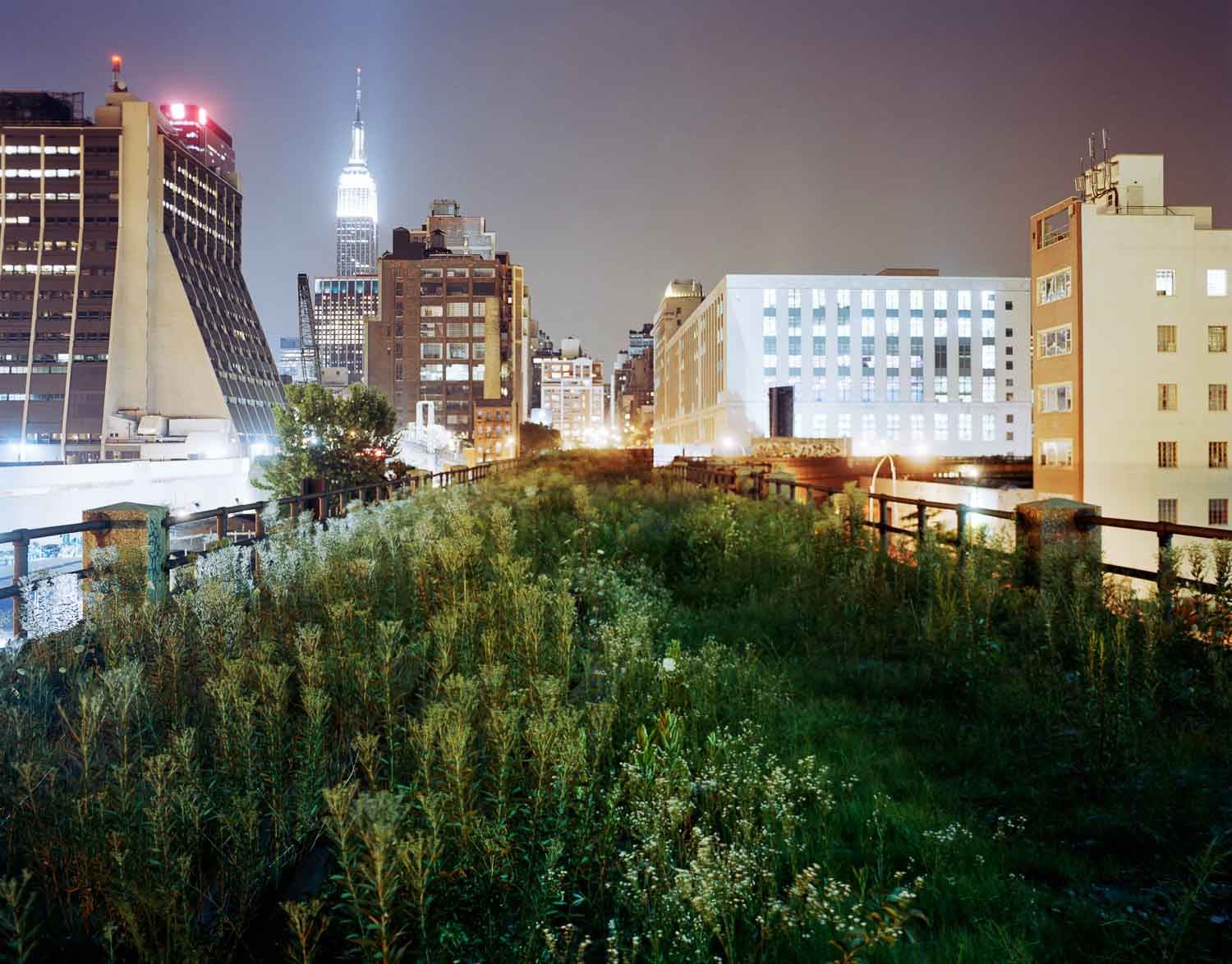 The Highline: Above 34th Street Eastward 2004 Jesse Chehak
