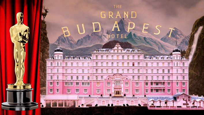Masch, Team-Oskar für Grand Budapest Hotel