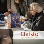 Christo signiert im Taschen Verlag