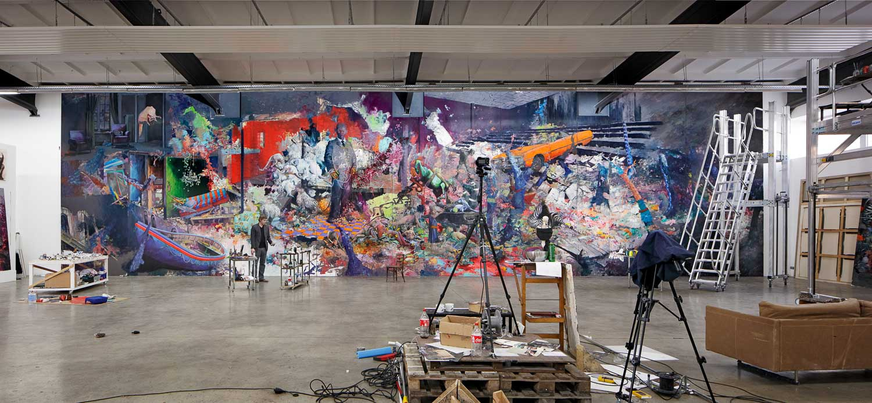 Jonas Burgert, Zeitlaich, Blainsouthern, Photo: ©lepowski studios