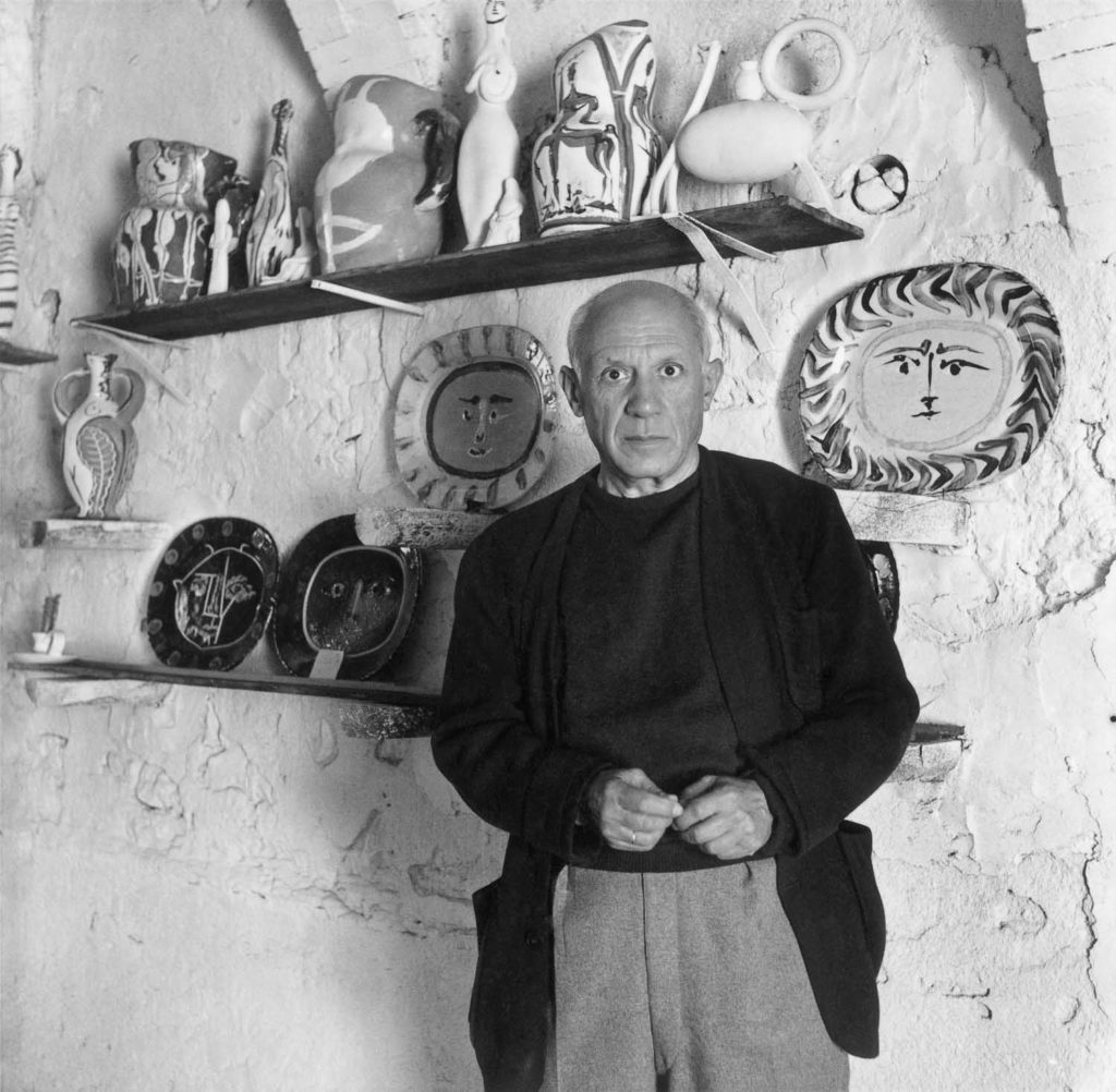 Willy Maywald: Pablo Picasso, Vallauris, 1948. © Association Willy Maywald - ADAGP
