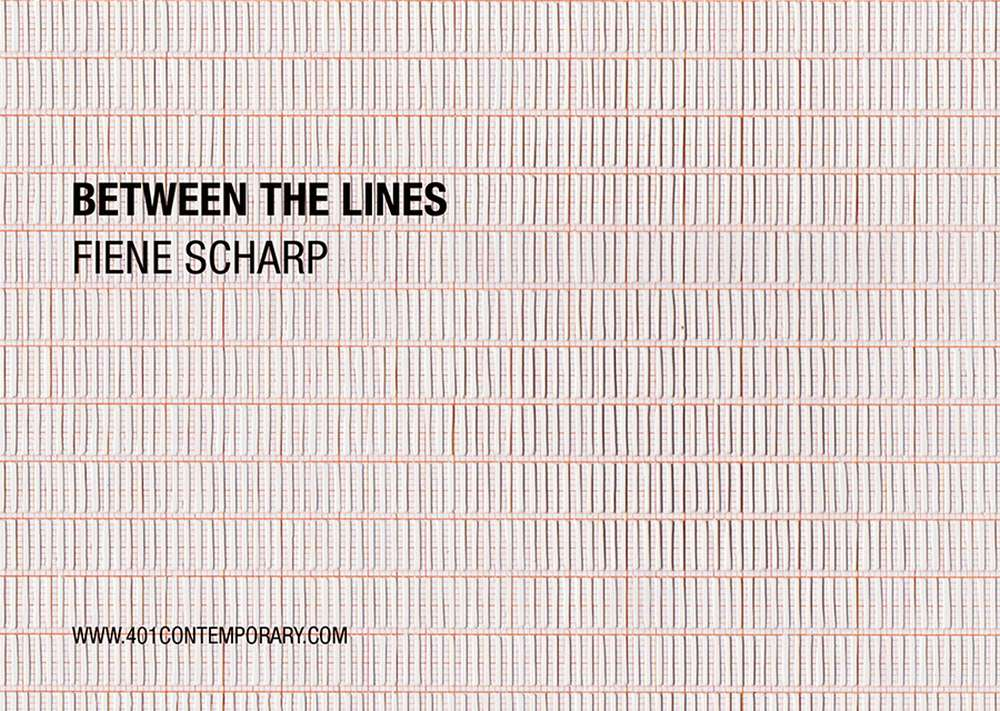 401contemporary zeigt Fiene Scharp mit Between the lines