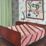 Almut Heise Schlafzimmer III, 1970, Galerie Michael Haas