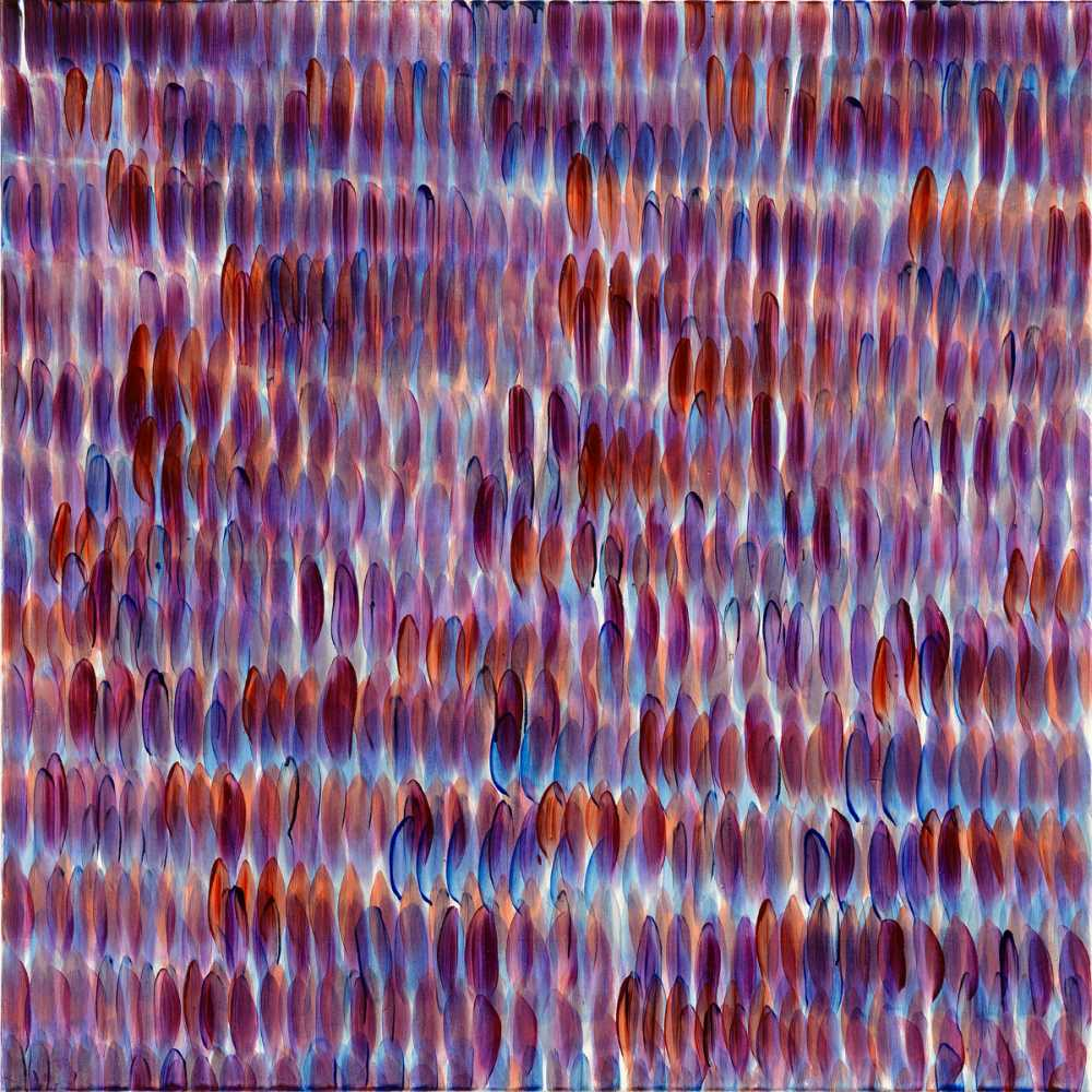 BernhardPaul, TYS_011, 2010, Acryl auf Leinwand, 120 x 120 cm, Review15, Galerie Anna25