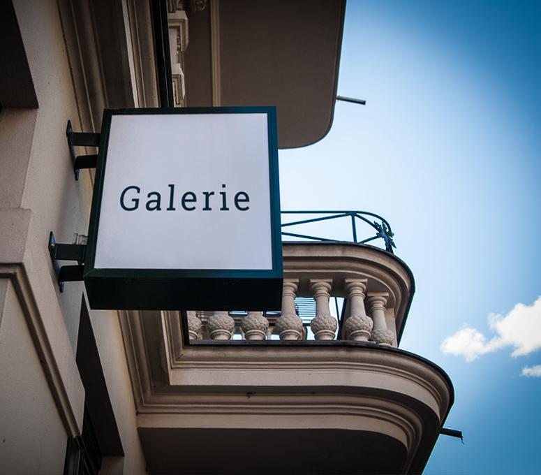 Werbung Kunst Kultur Galerie