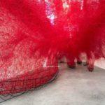 Chiharu Shiota, Uncertain Journey, 2016, Installation View Courtesy die Künstlerin und BlainSouthern, Photo Christian Glaeser