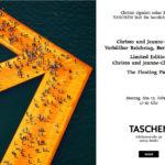 Christo signiert im Taschen Store Berlin