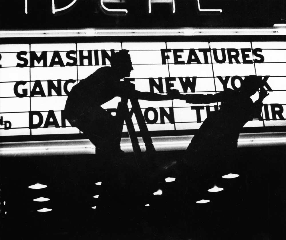 "© Estate of Louis Faurer, ""Ideal Theatre"", Philadelphia, 1938"