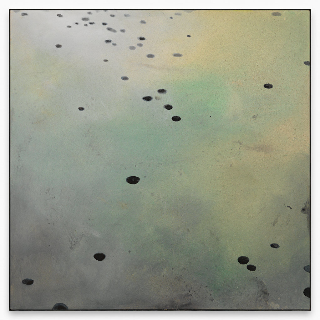 """Gerd Rohling """"süsse Schatten, 52th"""", 2005 - 2015 Lack, Dispersionsfarbe, Acryl auf Spanplatte 200 x 200 cm / 78 3/4 x 78 3/4 in"""