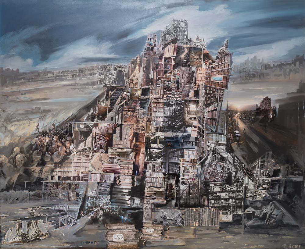 Galina Troizky in der Galerie Juliane Hundertmark
