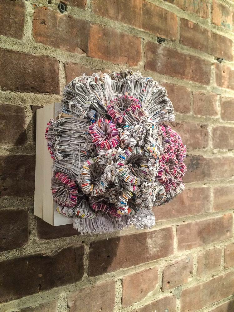 Jaynie Crimmins in der Gallery 66 NY