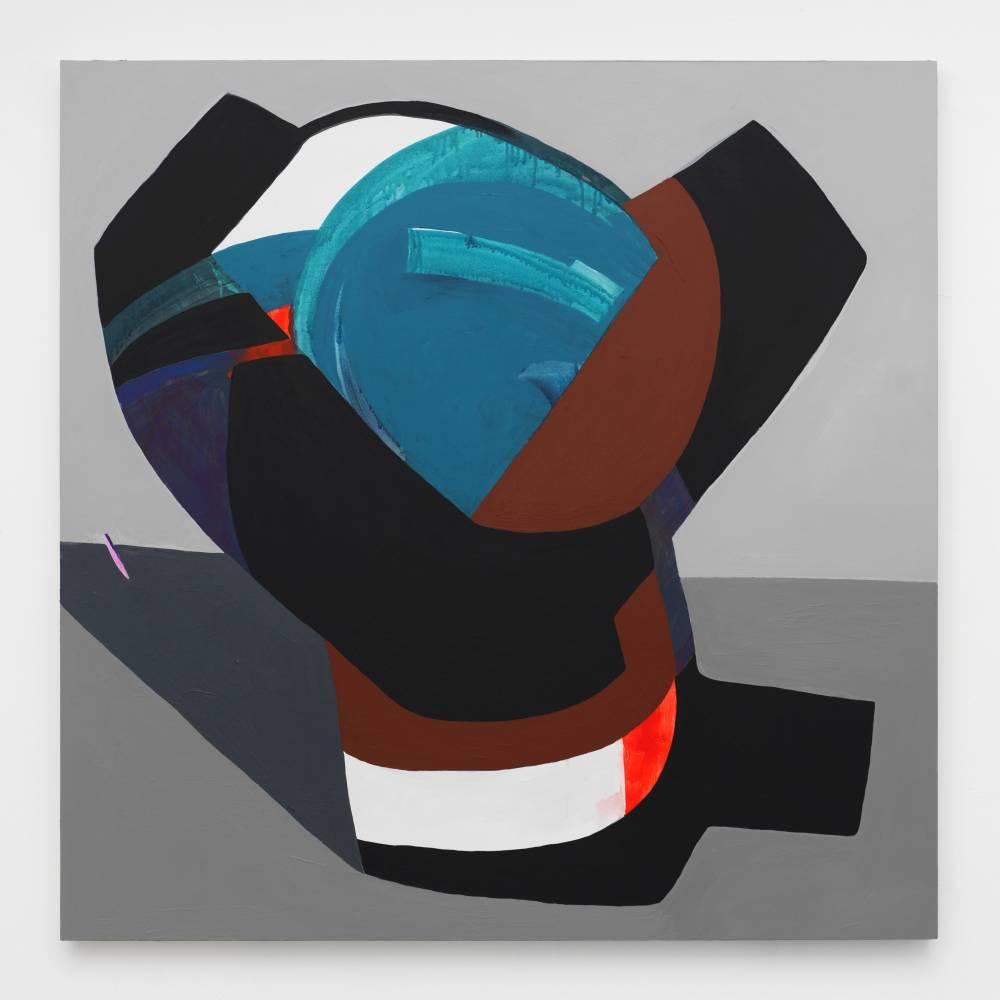 Hayal Pozanti, Five Eyes, 2014-15, Acrylic on wood panel - I Was Once Lonelyness, BlainSouthern