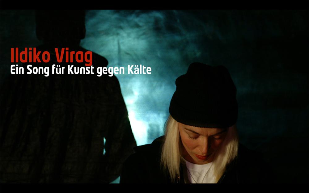 Ildiko Virag, Aleppo, Kunst gegen Kälte, Foto: whos that girl